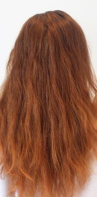Before Light Set copper hair highlight application