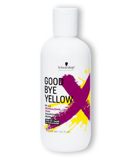 Schwarzkopf Professional Goodbye Yellow Neutralizing Wash